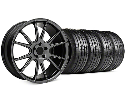 Niche Vicenza Black Chrome Wheel & Sumitomo HTR Z III Tire Kit - 20x9 (15-17 All)