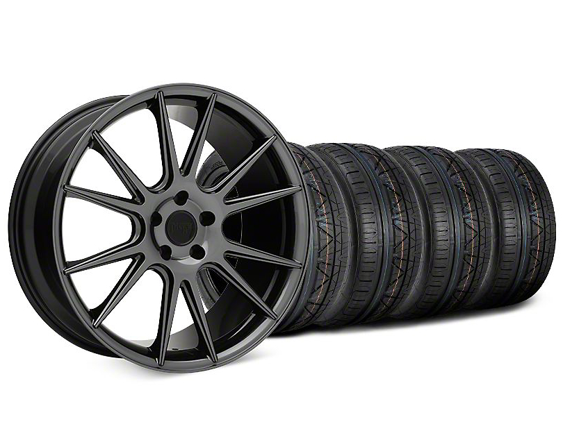 Niche Vicenza Black Chrome Wheel & NITTO INVO Tire Kit - 20x9 (15-18 GT, EcoBoost, V6)
