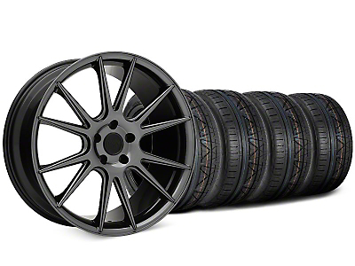 Niche Vicenza Black Chrome Wheel & NITTO INVO Tire Kit - 20x9 (15-17 All)