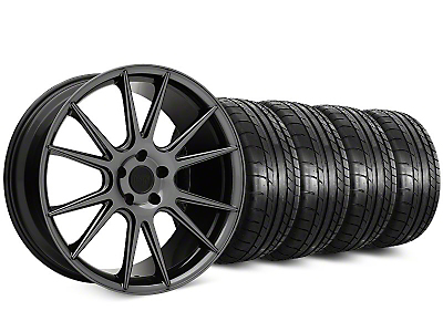 Niche Vicenza Black Chrome Wheel & Mickey Thompson Street Comp Tire Kit - 20x9 (15-18 GT, EcoBoost, V6)