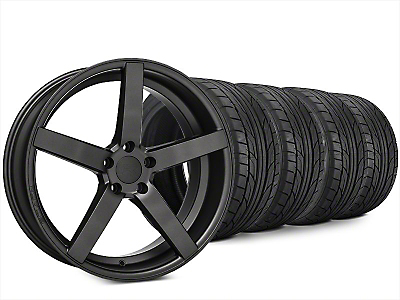 Rovos Durban Satin Gunmetal & NITTO NT555 G2 Tire Kit - 20x8.5 (15-18 All)
