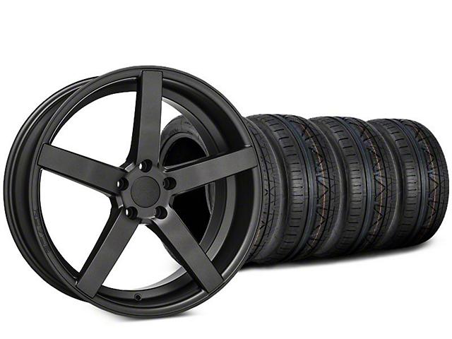 Rovos Durban Satin Gunmetal & NITTO INVO Tire Kit - 20x8.5 (15-17 All)