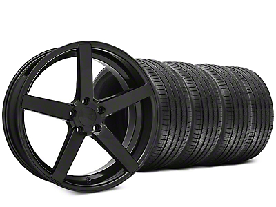 Rovos Durban Gloss Black & Sumitomo HTR Z III Tire Kit - 20x8.5 (15-17 All)