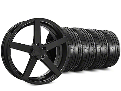 Rovos Durban Gloss Black & Mickey Thompson Street Comp Tire Kit - 20x8.5 (15-17 All)