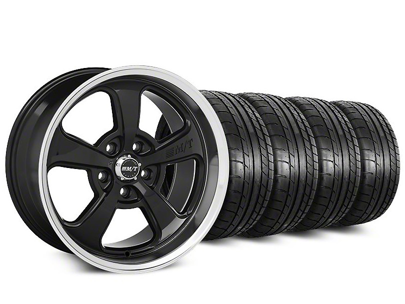 Mickey Thompson Street Comp SC-5 Black Wheel & Mickey Thompson Street Comp Tire Kit - 20x9 (15-18 GT, EcoBoost, V6)