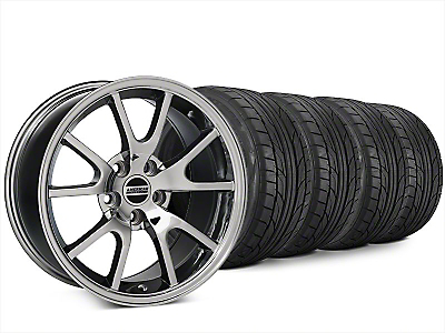 Staggered FR500 Style Chrome Wheel & NITTO NT555 G2 Tire Kit - 20x8.5/10 (15-17 All)