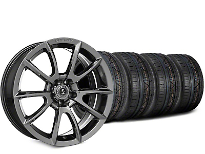 Staggered Super Snake Style Chrome Wheel & NITTO INVO Tire Kit - 19x8.5/10 (15-17 All)