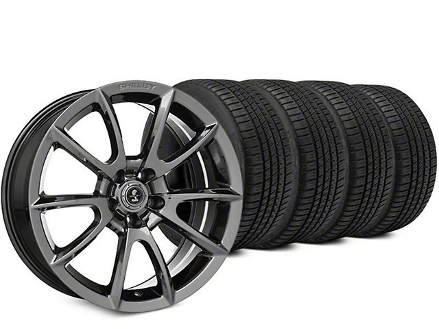 Staggered Super Snake Style Chrome Wheel & Michelin Pilot Sport A/S 3+ Tire Kit - 20x9/10 (15-19 All)