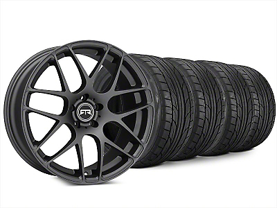 Staggered RTR Charcoal Wheel & NITTO NT555 G2 Tire Kit - 20x9/10 (15-18 All)