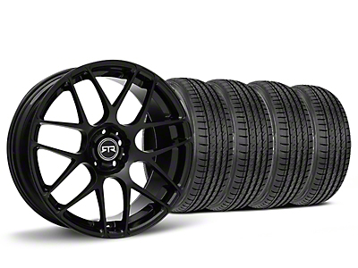 Staggered RTR Black Wheel & Sumitomo HTR Z III Tire Kit - 19x8.5 (15-17 All)
