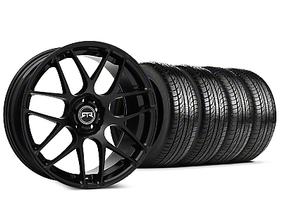 Staggered RTR Black Wheel & Pirelli P-Zero Nero Tire Kit - 19x8.5 (15-17 All)