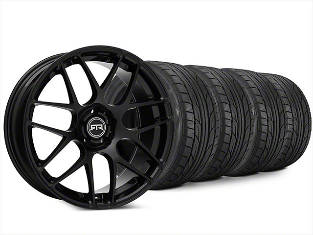 Staggered RTR Black Wheel & NITTO NT555 G2 Tire Kit - 20x9/10 (15-18 All)