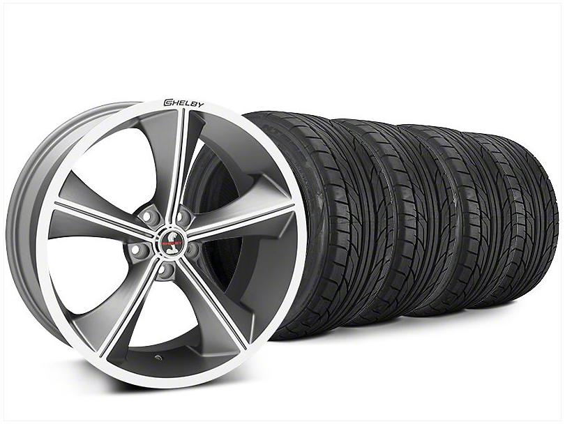 Staggered Shelby CS70 Gunmetal Wheel & NITTO NT555 G2 Tire Kit - 20x9/10 (15-17 All)