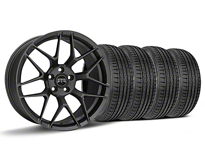 Staggered RTR Tech 7 Charcoal Wheel & Sumitomo HTR Z III Tire Kit - 19x9.5 (15-17 All)