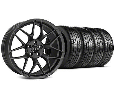 Staggered RTR Tech 7 Charcoal Wheel & Pirelli P-Zero Nero Tire Kit - 19x9.5/10.5 (15-19 GT, EcoBoost, V6)
