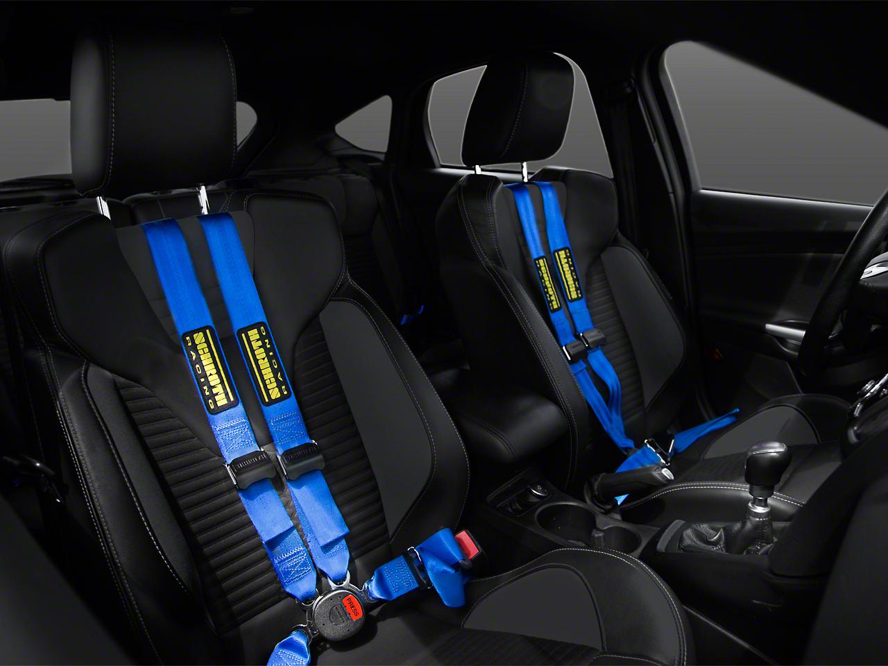 Schroth QuickFit Pro Harness, Blue - Driver & Passenger Side (05-17 All)