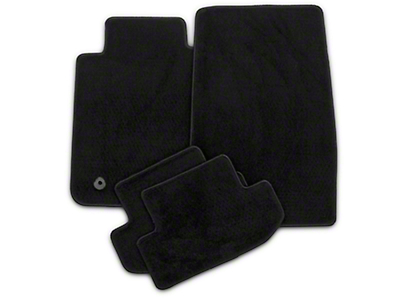 Lloyd Front & Rear Floor Mats - Black (15-19 All)