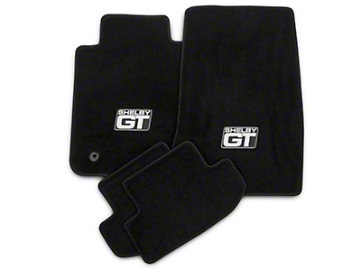 Lloyd Front & Rear Floor Mats w/ Shelby GT Logo - Black (15-18 All)