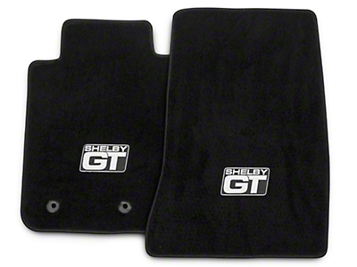 Lloyd Front Floor Mats w/ Shelby GT Logo - Black (15-18 All)