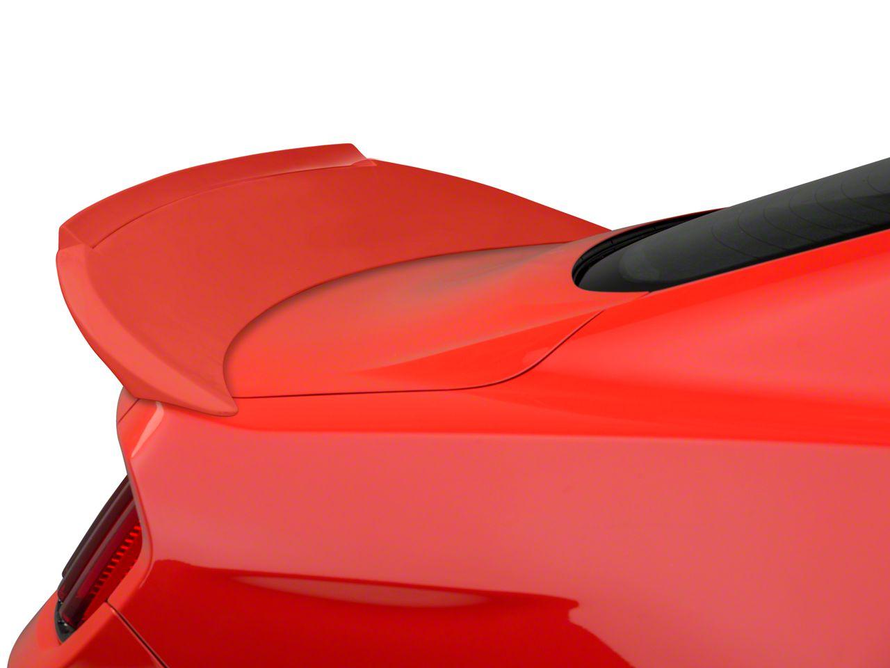 Fiberglass Rear Spoiler w/ Gurney Flap - Unpainted (15-19 Fastback)