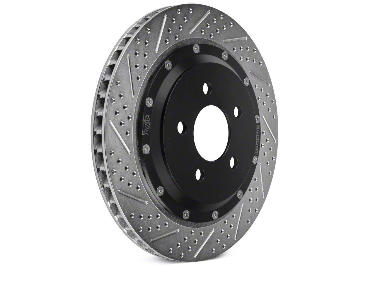 Baer EradiSpeed+ Rotors - Rear Pair (15-19 GT w/ Performance Pack)