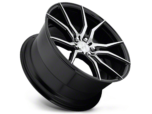 Niche Ascari Black Machined Wheel; 20x9 (10-14 All)