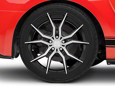 Niche Black Machined Ascari Wheel - 20x10 (15-18 All)