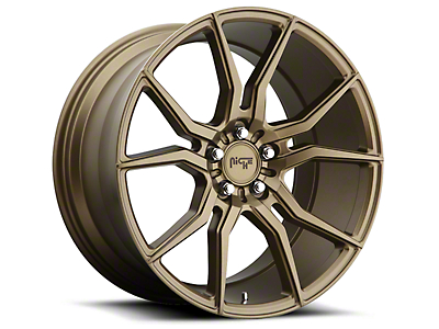 Niche Bronze Ascari Wheel - 20x10 (15-18 All)