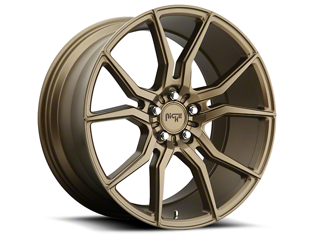 Niche Bronze Ascari Wheel - 20x9 (05-14 All)