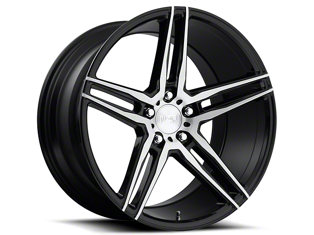 Niche Black Machined Turin Wheel - 19x9.5 (05-14 All)