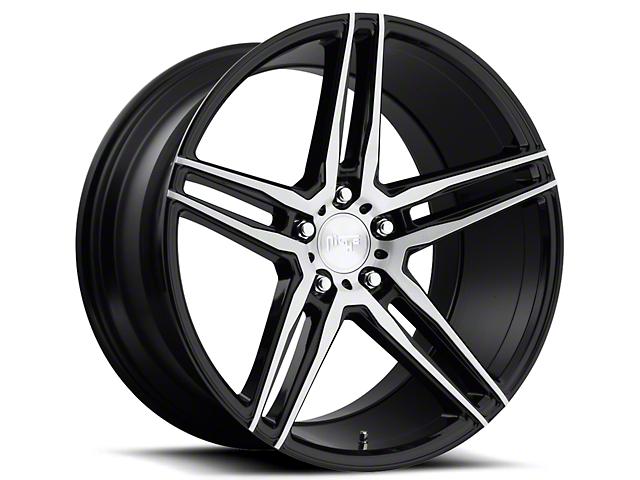 Niche Turin Black Machined Wheel - 20x10 (05-14 All)