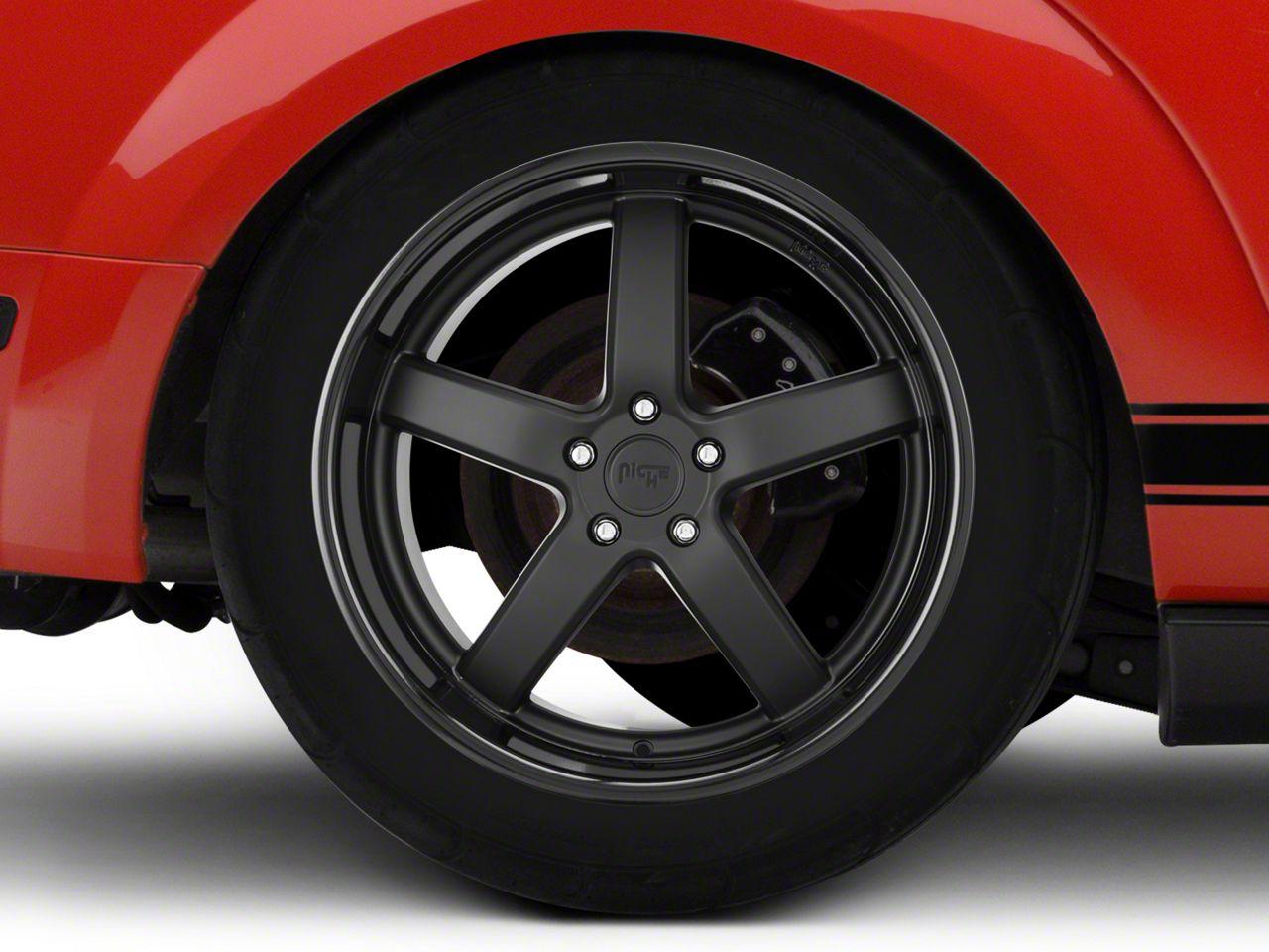 Niche TMB Matte Black Wheel - Passenger Side - 20x10 - Rear Only (05-14 All)