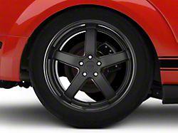 Niche Pantano Matte Black Wheel; Rear Only; 20x10 (05-09 All)