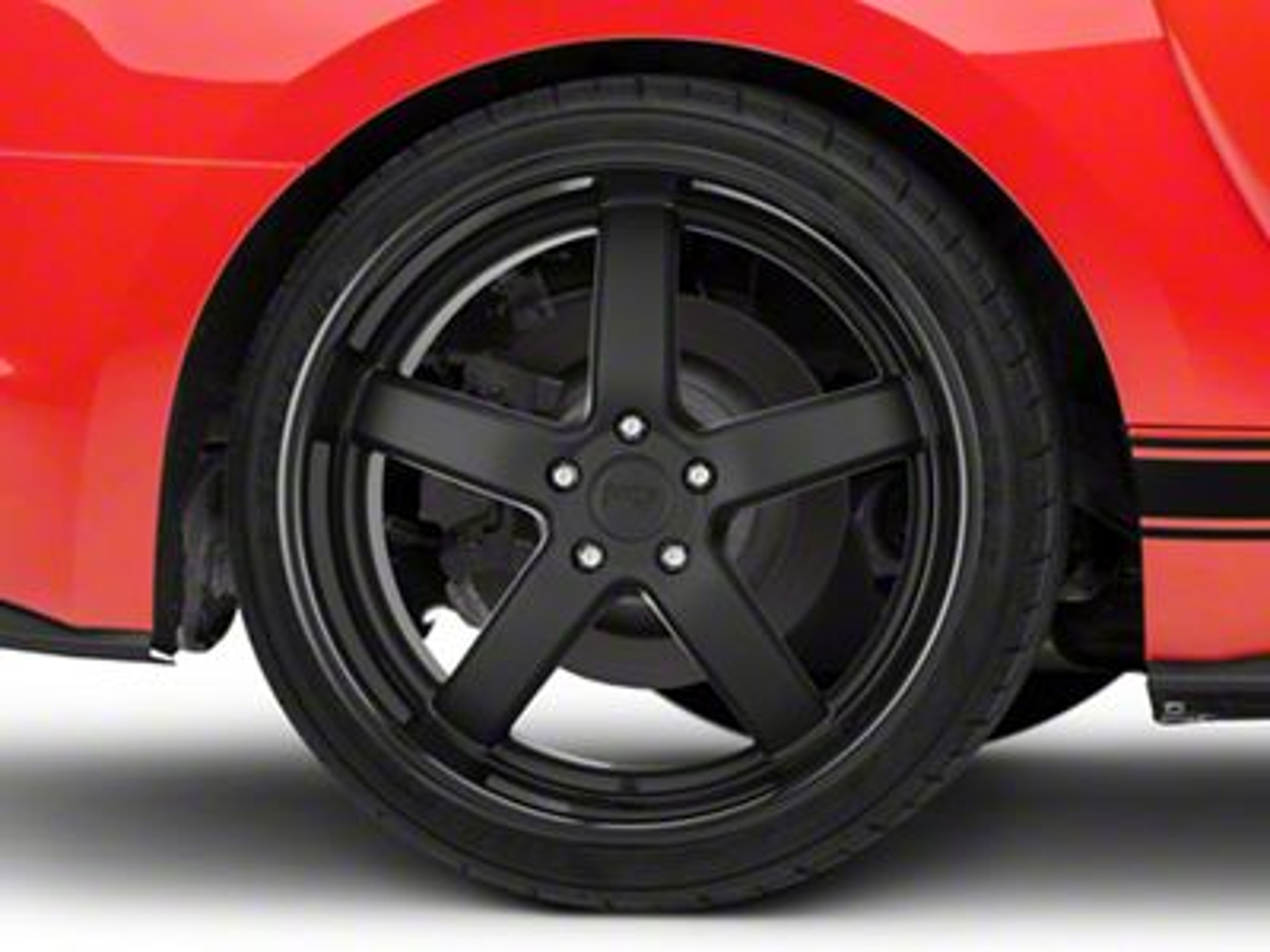 Niche Pantano Matte Black Wheel - 20x10 - Rear Only (15-19 GT, EcoBoost, V6)