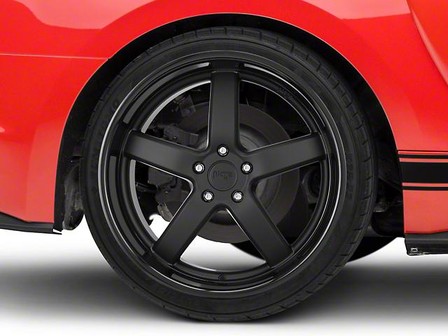 Niche Matte Black Pantano Wheel - 20x10 (15-17 All)