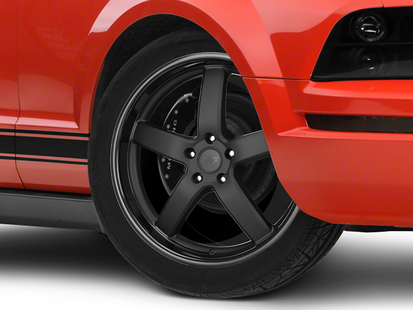 Niche Matte Black Pantano Wheel - 20x8.5 (05-14 GT, V6)