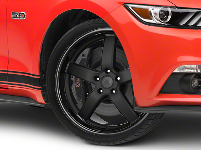 Niche Pantano Matte Black Wheel - 20x8.5 (15-18 GT, EcoBoost, V6)