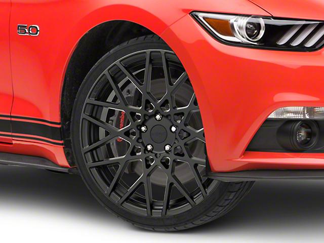 Rotiform BLQ Matte Black Wheel - 20x8.5 (15-19 GT, EcoBoost, V6)