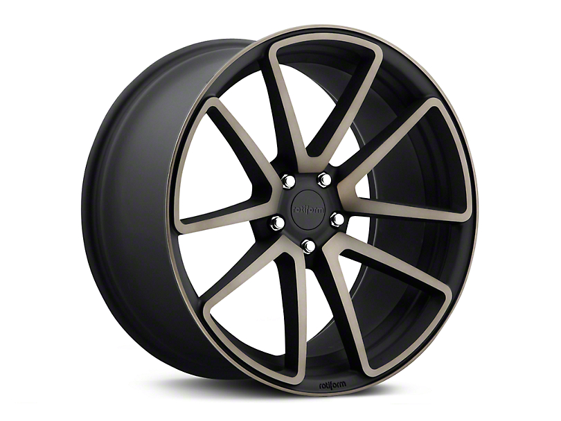 Rotiform SPF Black Machined Wheel - 19x10 - Rear Only (05-14 All)