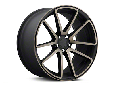 Rotiform SPF Black Machined Wheel - 19x10 (15-19 GT, EcoBoost, V6)