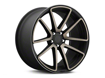 Rotiform SPF Black Machined Wheel - 19x8.5 (15-18 GT, EcoBoost, V6)