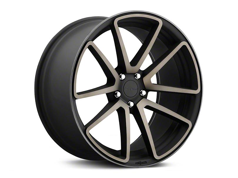 Rotiform Black Machined SPF Wheel - 20x10 (05-14 All)