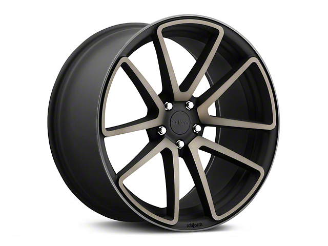 Rotiform Black Machined SPF Wheel - 20x10 (15-18 GT, EcoBoost, V6)