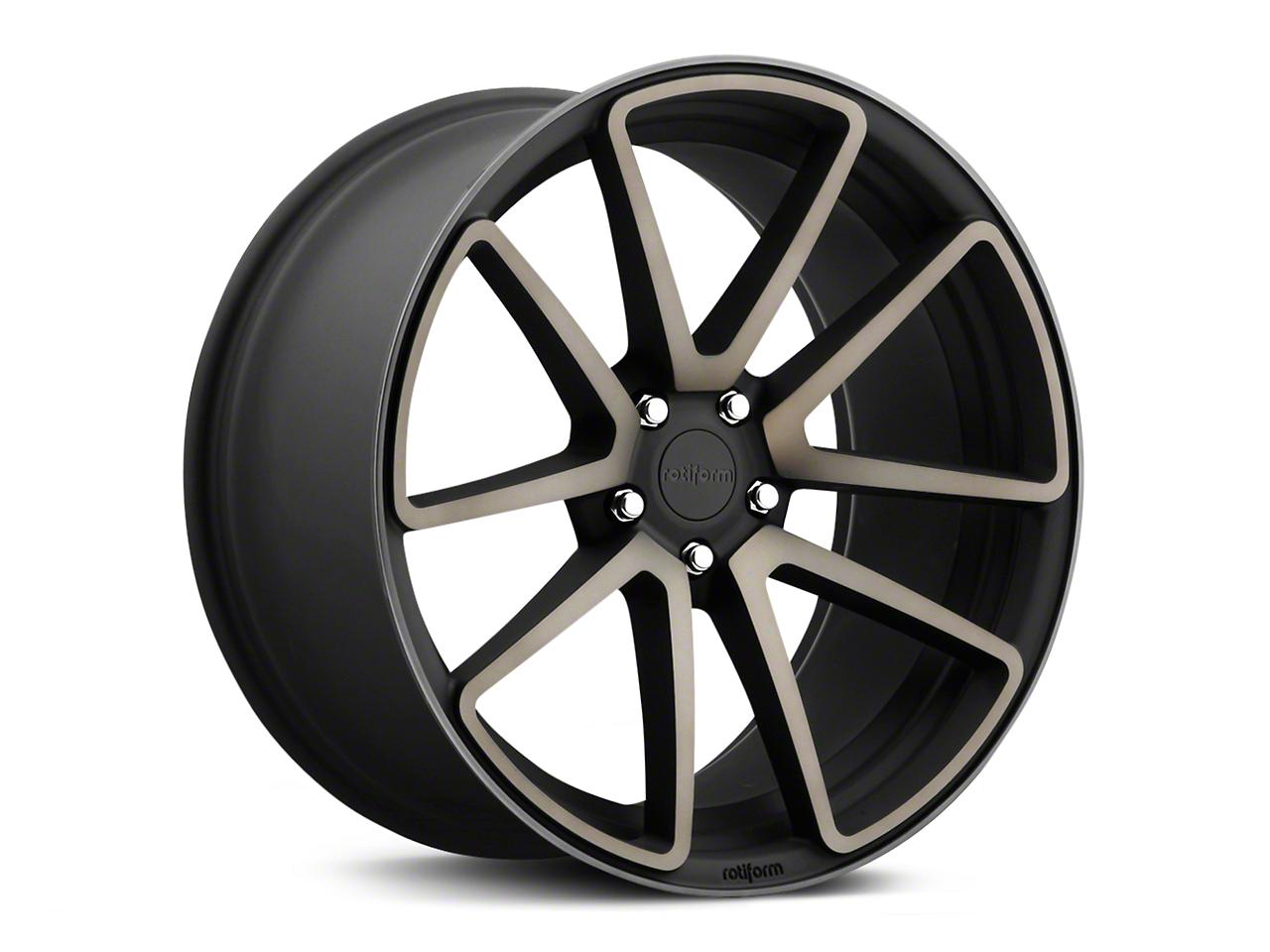 Rotiform Black Machined SPF Wheel - 20x10 (15-17 All)