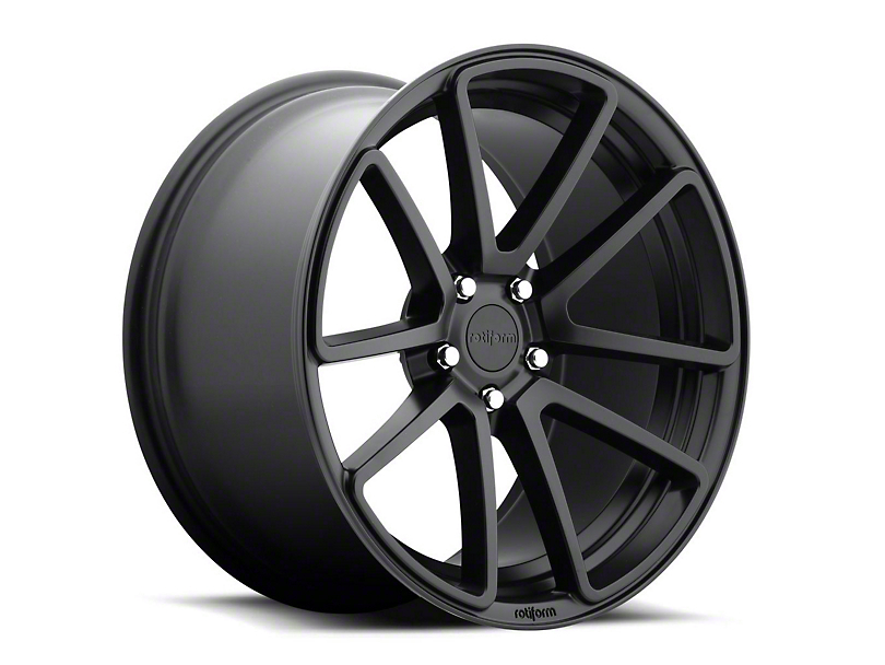 Rotiform Matte Black SPF Wheel - 19x8.5 (15-17 All)