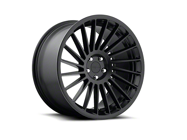 Rotiform IND-T Black Machined Wheel; Rear Only; Driver Side; 19x10 (05-09 All)