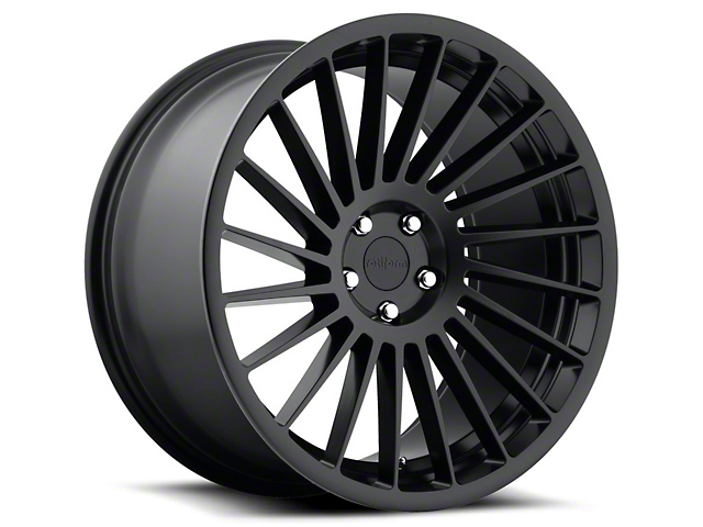 Rotiform Black Machined IND-T Wheel - Driver Side - 19x10 (15-17 All)