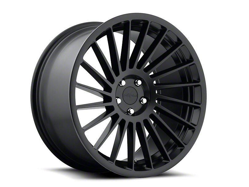 Rotiform IND-T Black Machined Wheel - Passenger Side - 19x10 (15-18 GT, EcoBoost, V6)