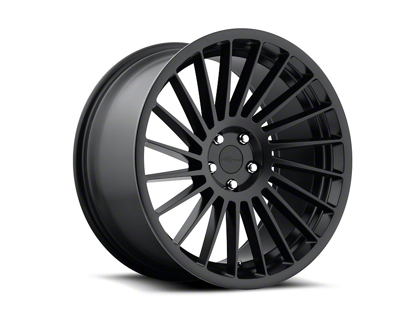 Rotiform IND-T Black Machined Wheel - Driver Side - 20x9 (05-14 Standard GT, V6)