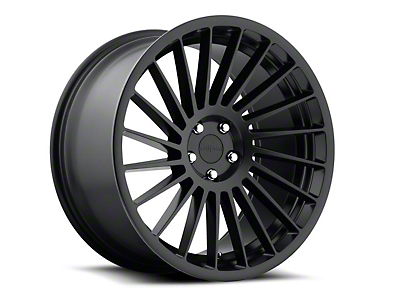 Rotiform IND-T Black Machined Wheel - Passenger Side - 19x10 (05-14 Standard GT, V6)
